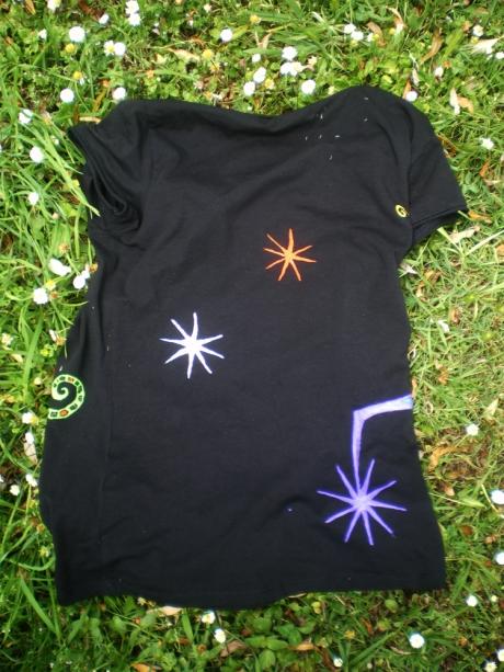 camisetanegraestrellas